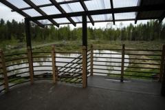 Piha-aita järvellä